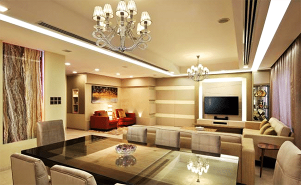Designer tips Create zones in a large room (3)