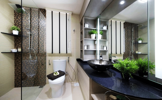 Elegant Bathing Areas with Clean Aesthetics and Chic Design Sensibility   (2)