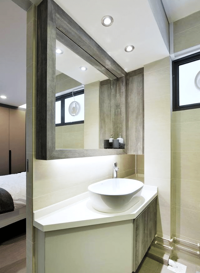 Elegant Bathing Areas with Clean Aesthetics and Chic Design Sensibility   (4)