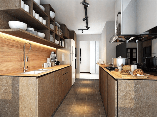 Kitchen Diaries Functional And Edgy Shelves