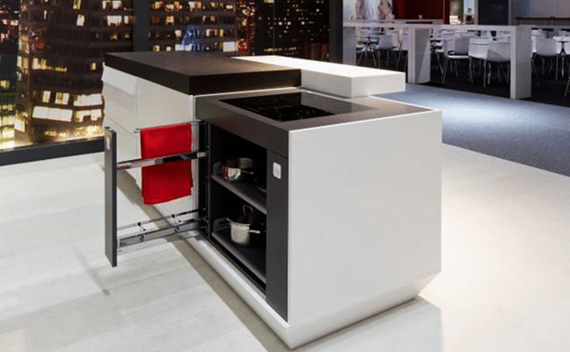 What are the types of solid surface counters (1)