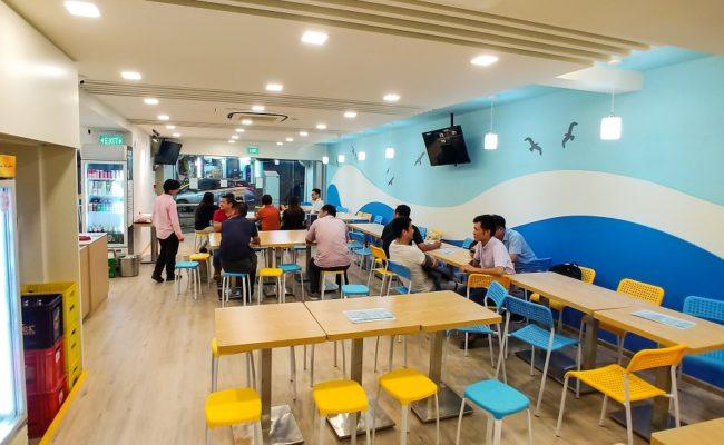 Interior Design Renovation Commercial Restaurant Project GuCheng (5)