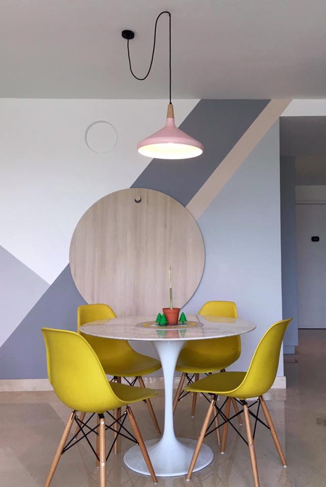 Scandinavian interior design with pastel color palette - Interior design color palette ...