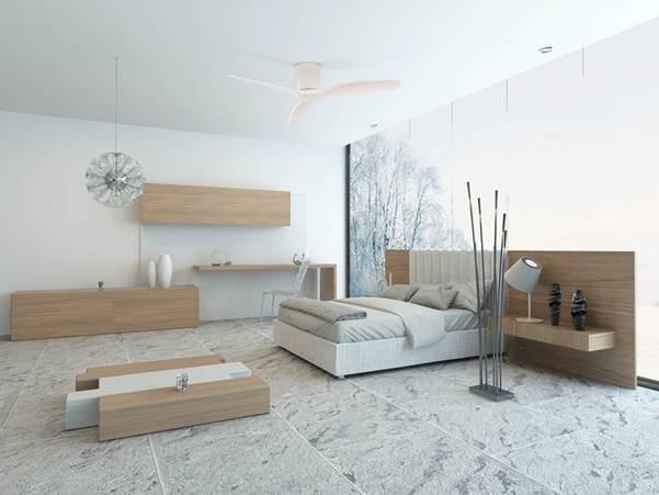 Tasteful fans for modern interiors (5)