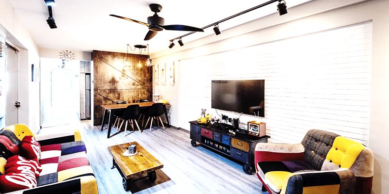 A Bohemian take on Rustic Interiors