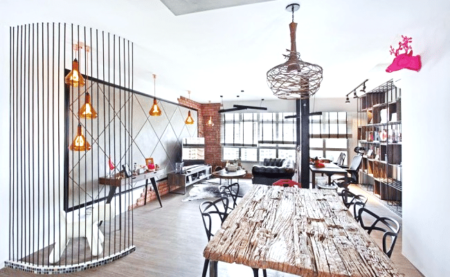 Industrial Interiors with Chic Flavor and Impressive Visual Harmony (11)
