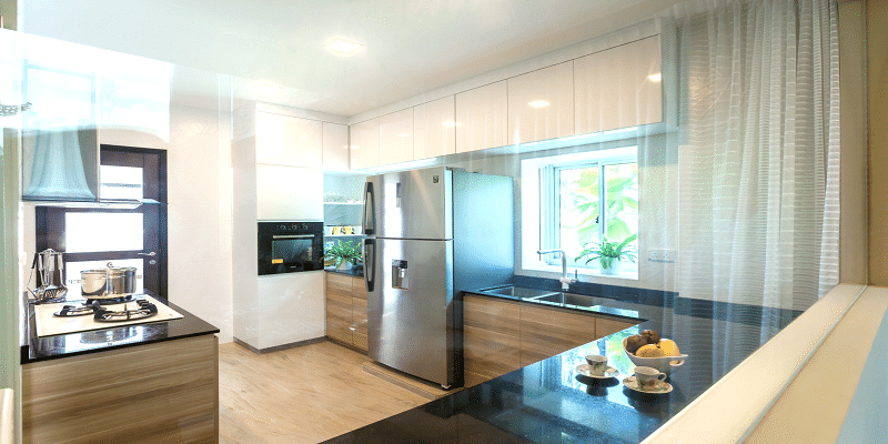 Beautiful Kitchens with Natural Beauty of Black Granite