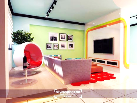 Five Unique Living Room Conceptualizations (3)