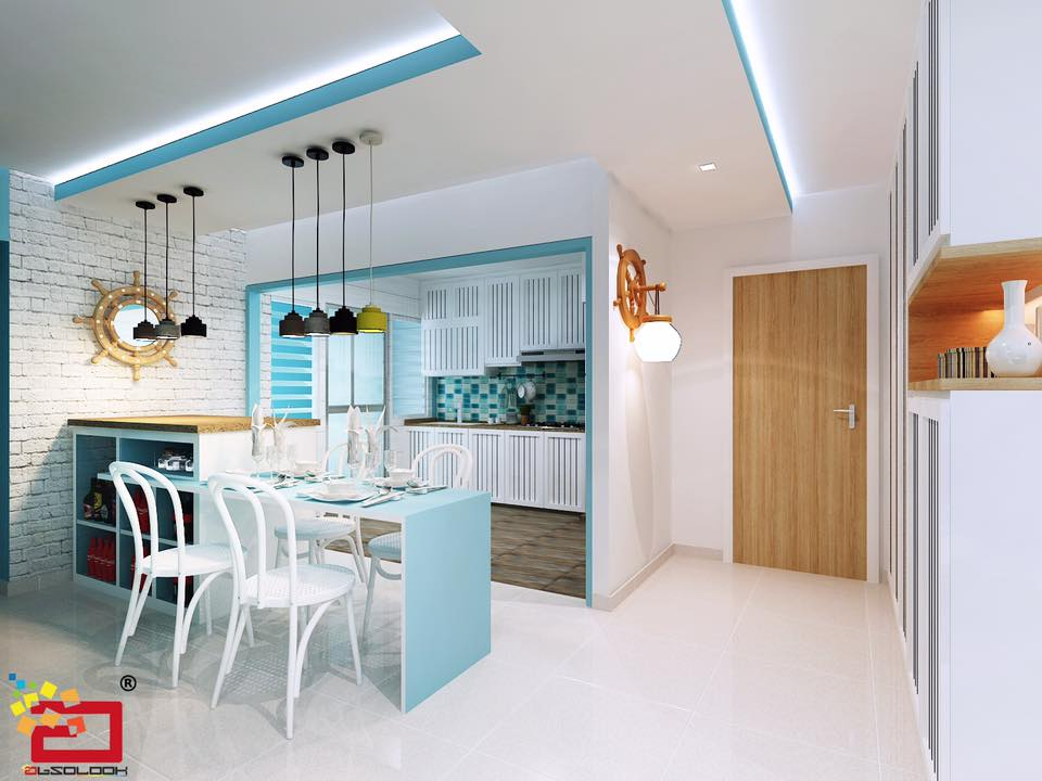 Home room interior design and custom carpentry singapore for Nautical interior designs
