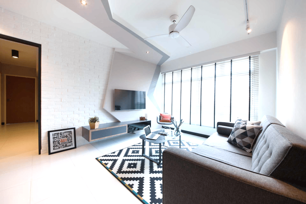 7 Fashionable Living Rooms that Defy Convention! (2)