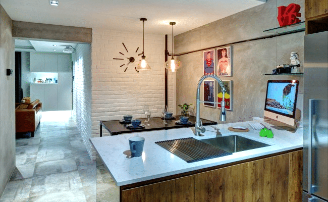 Timeless Allure of a Brick Wall for These Home Interiors (2)