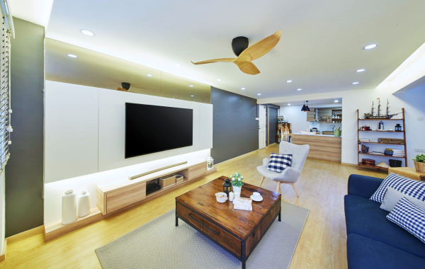 Home room interior design and custom carpentry singapore - Wooden home decor to provide warm atmosphere ...