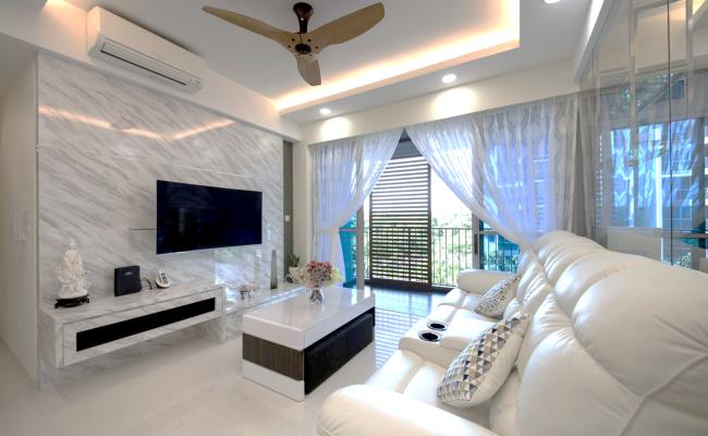 White, Clean and Elegant Modern Interior Design  (2)