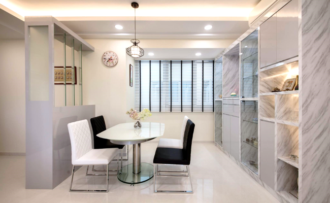 White, Clean and Elegant Modern Interior Design  (4)