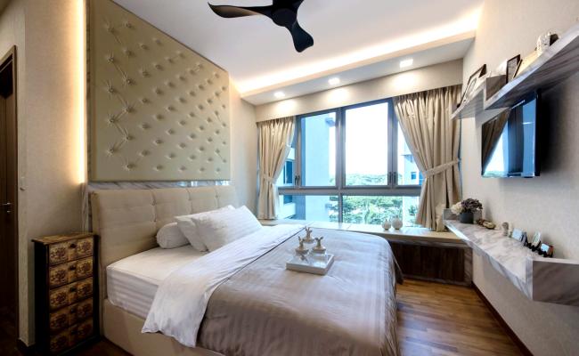 White, Clean and Elegant Modern Interior Design  (5)