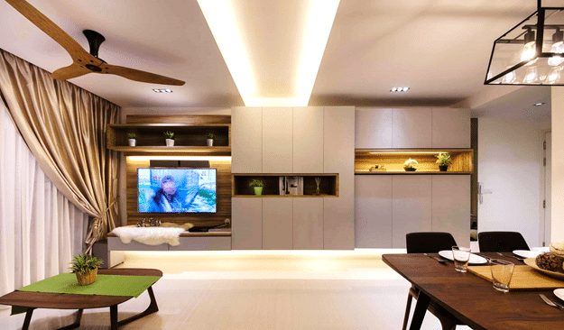 7 Media Wall Feature to Emulate the Contemporary! (4)