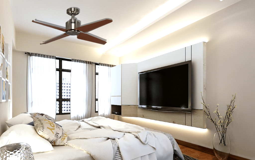 Easy Maintenance – The Era of Four Blade Ceiling Fans (2)