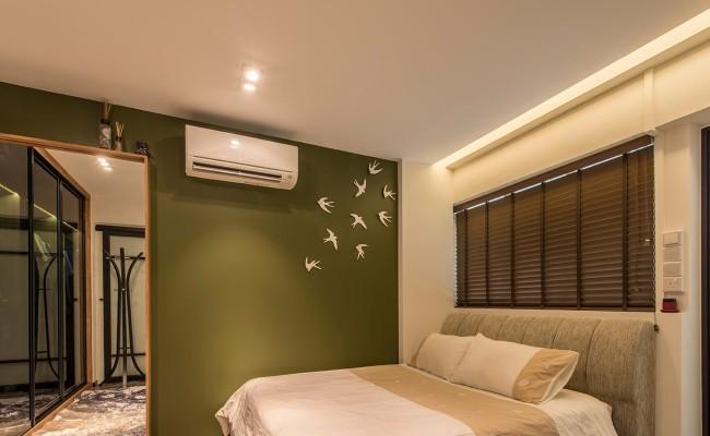 Modern interior design that resembles a hotel suite for Modern hotel interior design