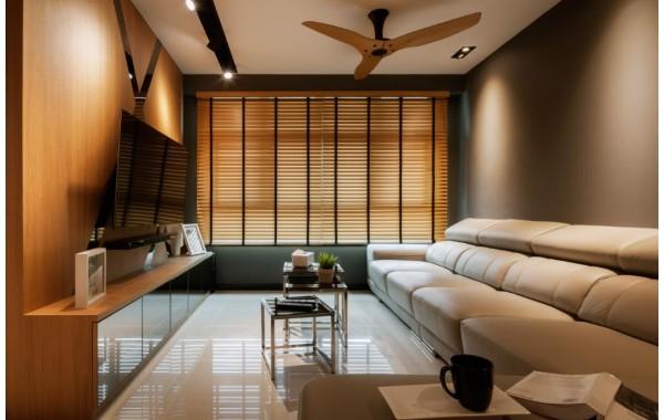 Posh interior design with a unification