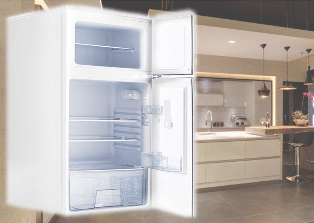 Retro Fridge - A combo of traditional and new (2)