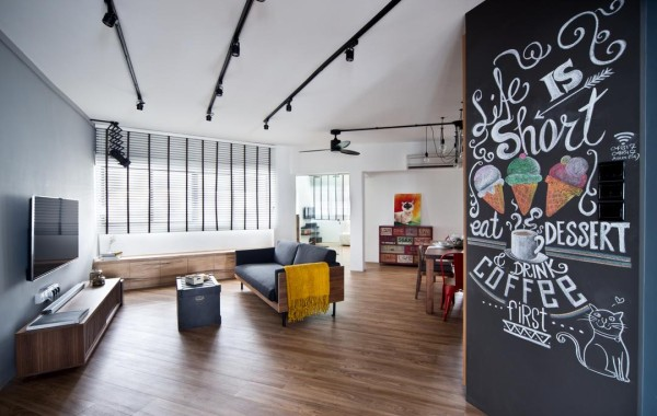 Scandinavian interior design can incorporate other trends