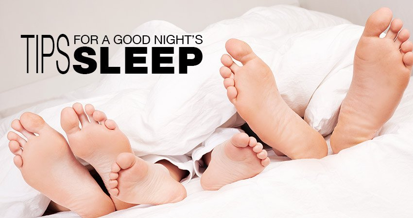 Sleeping Tight – 10 tips to catch a good night's sleep (1)