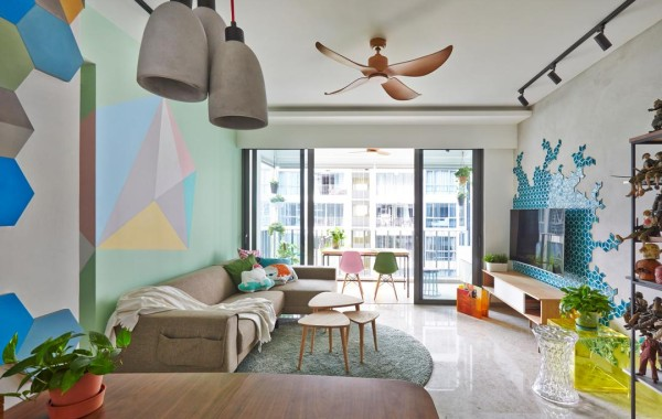 Modern interior design that challenges many preconceived notions!