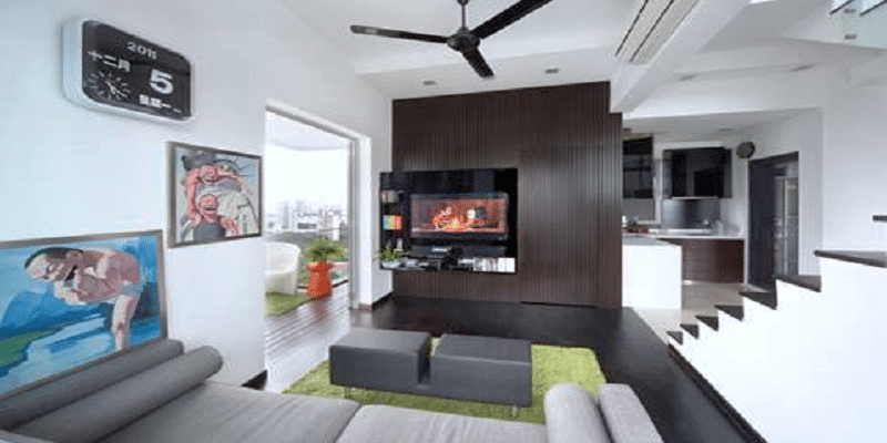 6 Interiors That Fit the Color Contrast Bill