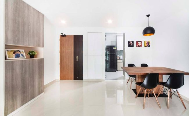 A Bright White Home With Wood Details (10)