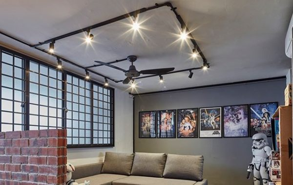 Industrial themed home with a touch of star wars series