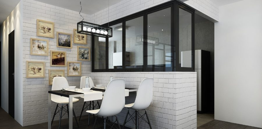 6 snazzy black and white interior schemes