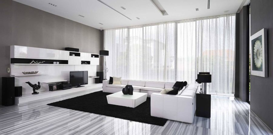 7 exceptionally designed monochrome interiors