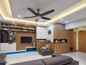 Wood works to play up homely feel