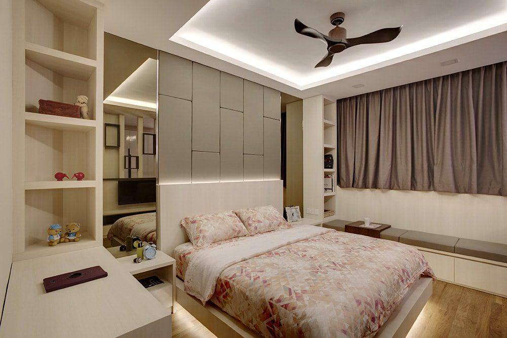 8 Marvelous Bedroom Interior Ideas Home Renovation Singapore Home Interior Design Singapore