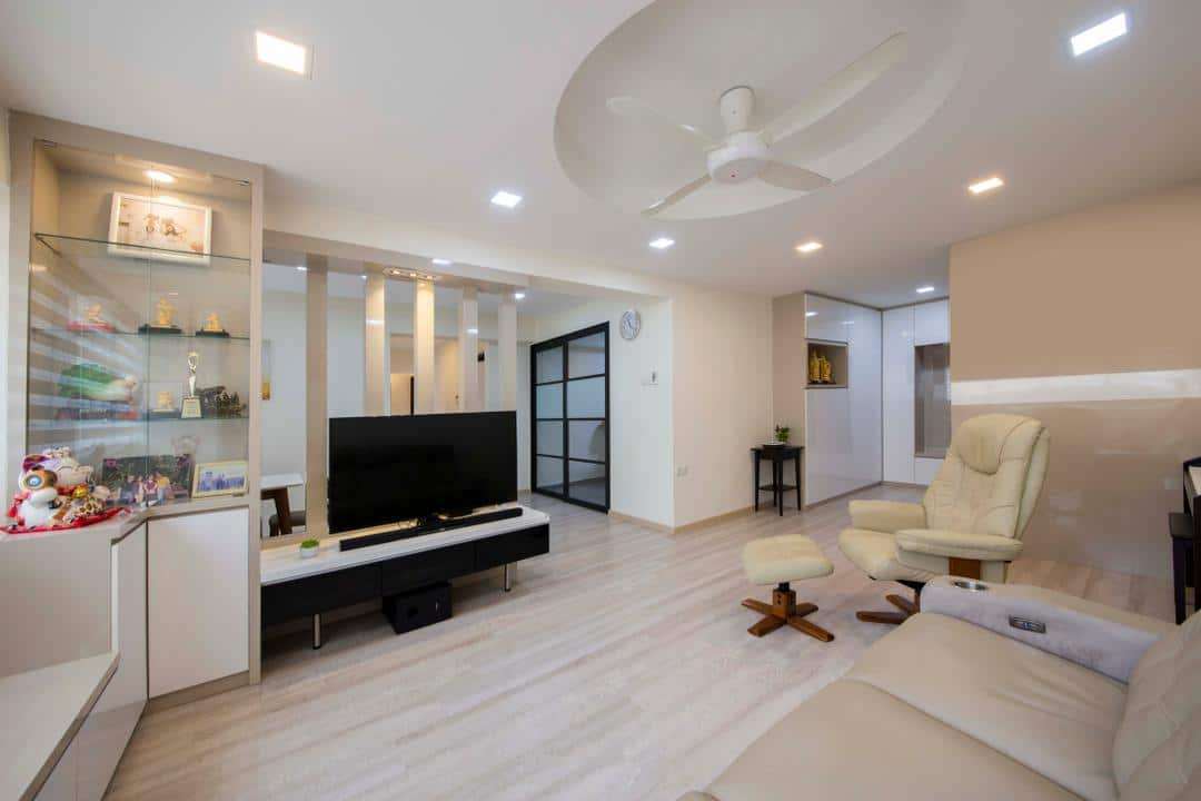 Modern interior design with a burst of creativity for Interior designs singapore