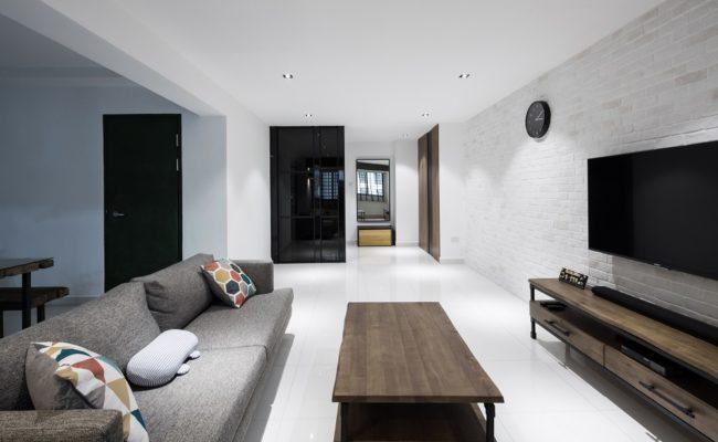 Modern homes that are a minimal paradise home renovation singapore - Modern werk ...