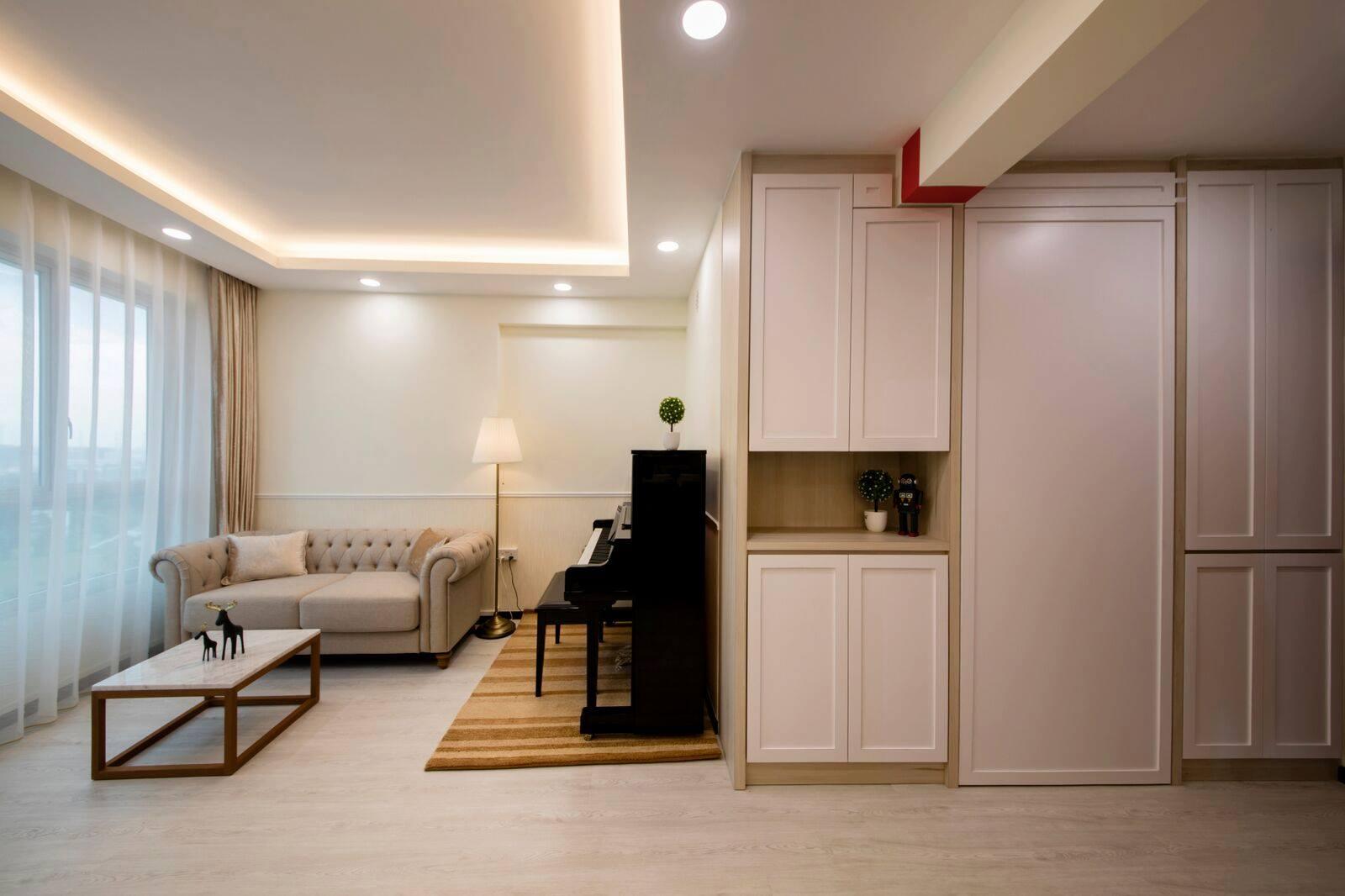 Home room interior design and custom carpentry singapore for Swedish interior design ideas