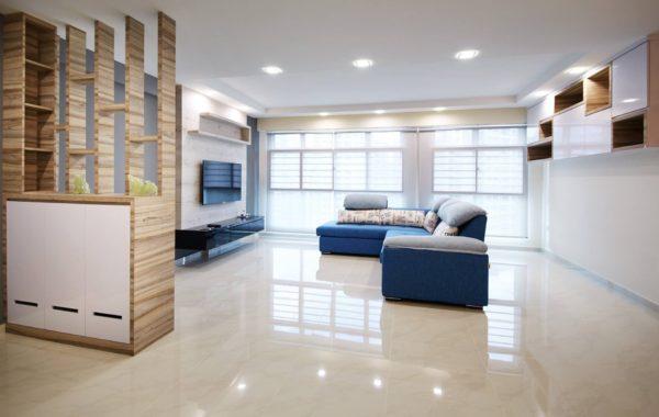 Scandinavian minimalistic interior concept