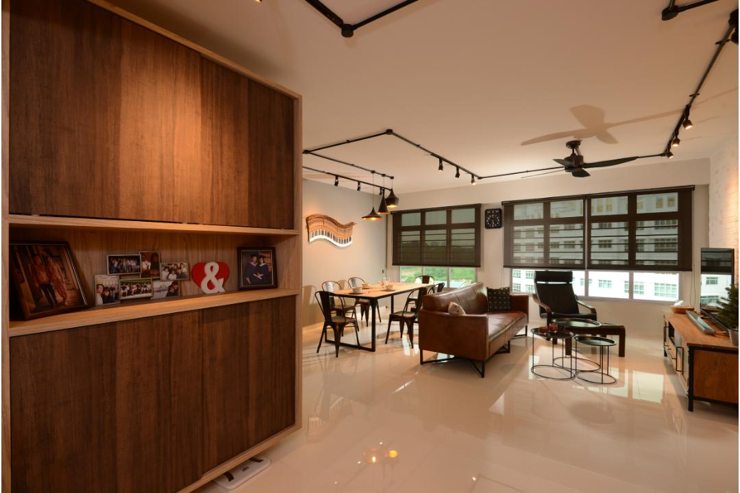 Industrial Interior Design 3 Home Renovation Singapore