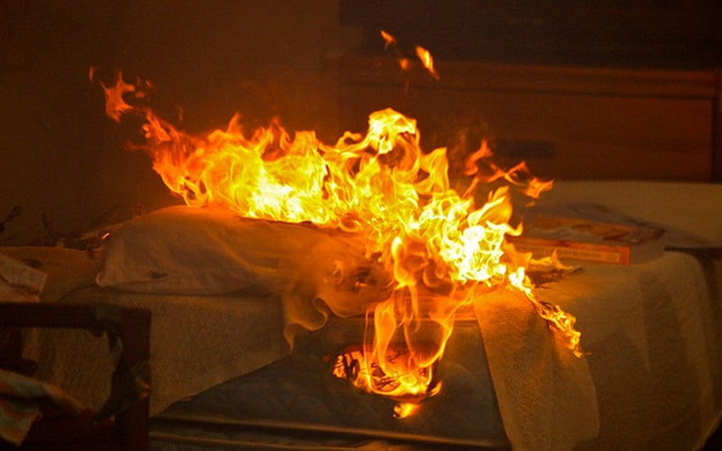 The effects of fire retardants on mattress usage