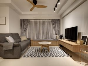 5 ways to dress your home in casual monochrome