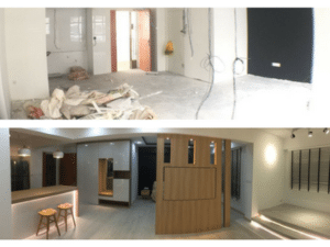 Before & After: When In Doubt, Don't Scream or Shout – Just hire an Interior Designer!