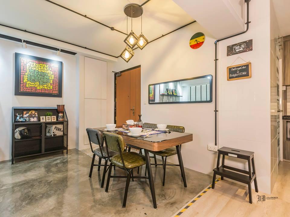 Home room interior design and custom carpentry singapore for Funky interior design inspiration