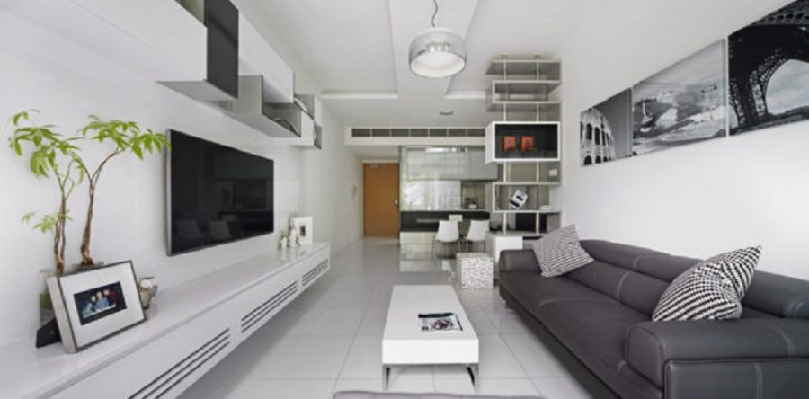 Monochrome Interior Which Makes You Yell Fabulous