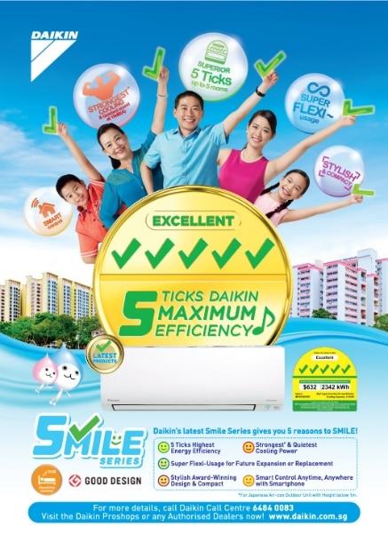 Why Daikin Amp Why 5 Ticks Smile Series