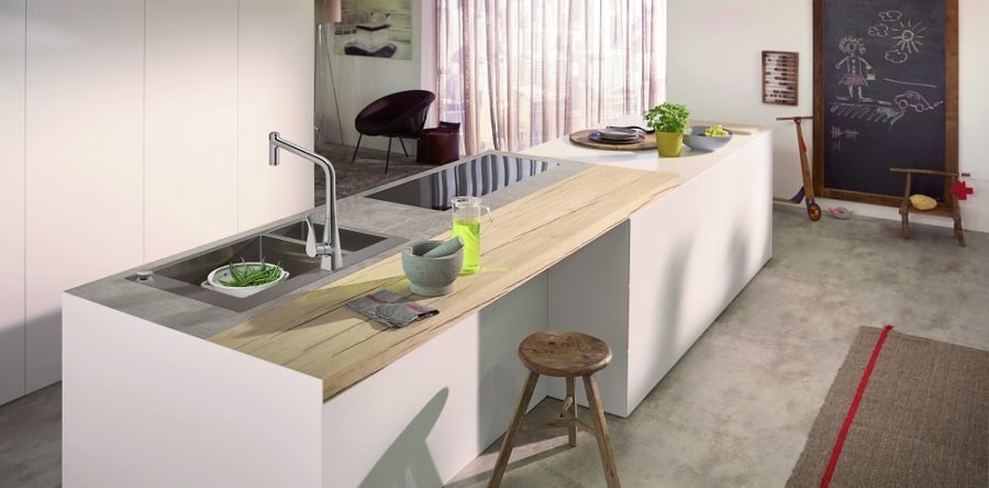 Hansgrohe's Next Generation Bathroom/Kitchen Line
