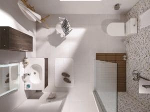 Rubine's 4-Series Toilet Suite; Comfort and Aesthetics, All In One
