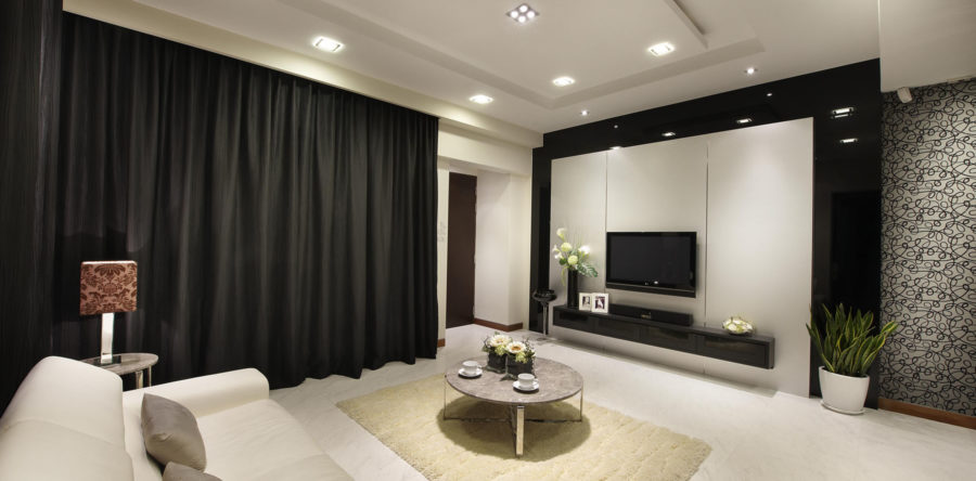 Black Is Always Sexy: Home Interior That Is Glamorously Black
