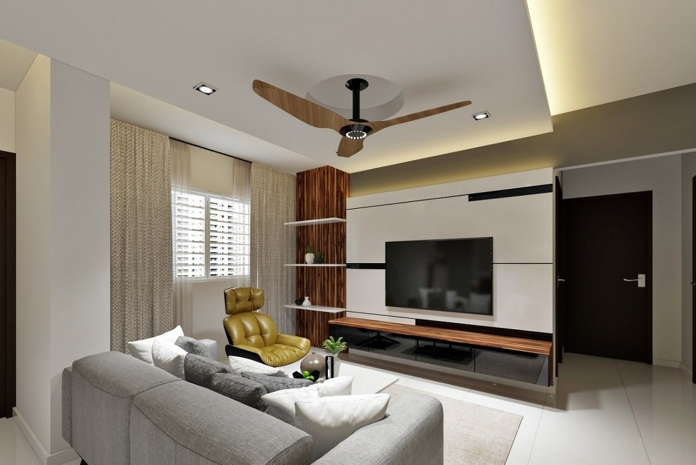singapore hdb living room design how to customize a standard hdb flat 21119