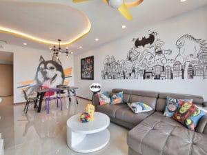 Murals In Peaceful Abode